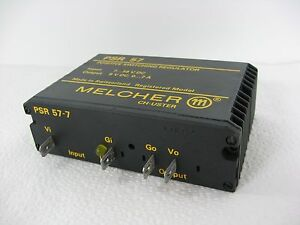 Melcher Psr 57 Positive Switching Regulator