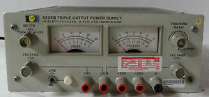 Hp Agilent 6236b Triple Output Dc Power Supply