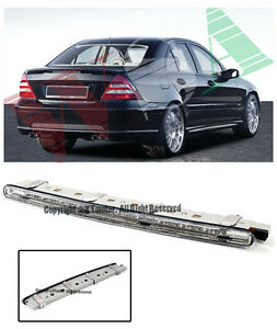 For 01 07 Benz W203 C class Rear Trunk Replacement Clear Led Third Brake Light