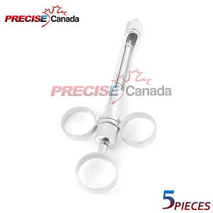 Precise Canada 5 Pc Anesthetic Dental Syringe 1 8 Ml 3 Rings Dental Instruments