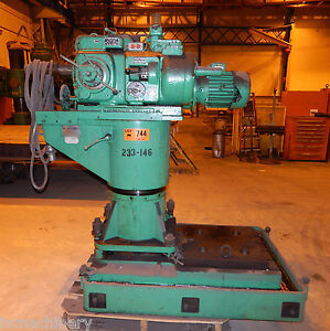 Standard Modern Archdale Portable Metal Boring Mill Borer Drill 2 75 Spindle