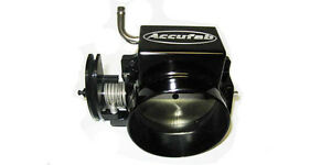 Accufab 105mm Chevy Camaro Ls1 Lsx Throttle Body For Fast Intake Black C105bk