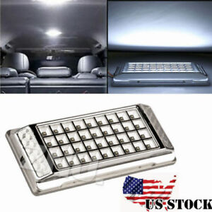 2x Super Bright White 36 Led Car Vehicle Roof Dome Ceiling Interior Light Lamp