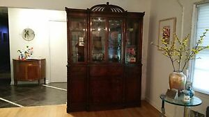 Superb Antique Early 20th Century Mahogany Breakfront