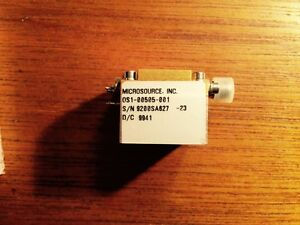 Microsource inc Osi 00505 001 D c 9941