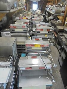 Pizza Dough Roller Sheeter Acme Mrs 11 2100 00 Nice Clean