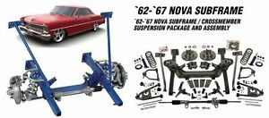 Heidts Cx 320 s k 1962 67 Nova Chevy Ii Subframe M 2 Mustang Ii 2 Front End Kit