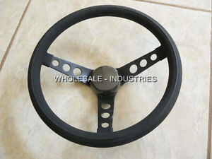 Grant 338 Universal 3 Spoke Steering Wheel 13 5 Ford Chevy Dodge Hot Rat Rod Mg