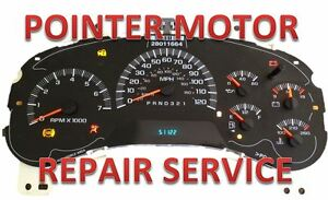 Repair Service 03 06 Chevy Silverado Instrument Cluster Gauge With Led Upgrade