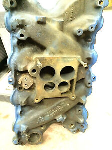 Ford Lincoln 460 1975 Vintage Inlet Manifold Stamped D5ve 9425 a3e