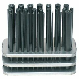 Ttc 28 Piece Transfer Punch Set 3 32 1 2 By 64ths Plus 17 32 pack Of 2