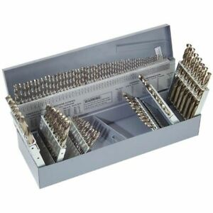 Ttc A3789 co 115 Pc Rh Cobalt 3 in 1 Combination Jobbers Drill Set