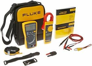 Fluke 116 323 Kit Hvac Multimeter Clamp Meter Case Tpak Leads