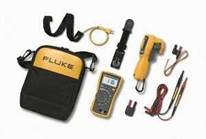 Fluke 116 62 Max Hvac Technician s Multimeter Ir Thermometer Combo Kit