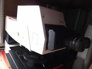 Leica Inm 100 Dic nomarski Microscope With Digital Camera And Pc Software