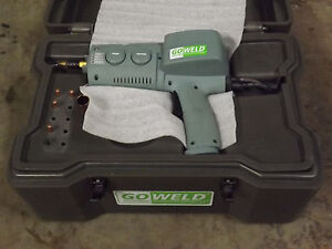 Broco Goweld Portable Mig Welder 12v Battery Powered Off road Spool Gun Spoolgun