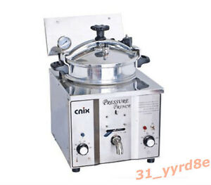 16l Commercial Electric Pressure Fryer 50 300 c 110v 220v