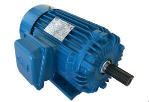 Premium Efficency Cast Iron Ac Motor 5hp 1800rpm 184t 3phase Tefc Foot