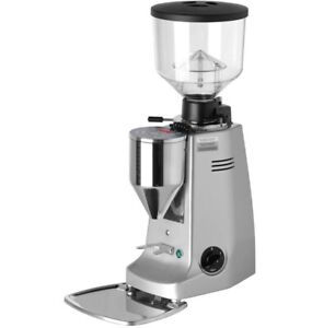 Mazzer Major Electronic Espresso Grinder Silver new Authorized Seller