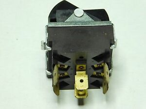 Star Mfg toastmaster 3003760 Dpdt Rocker Switch On on 3 Phase 17a 125 277vac
