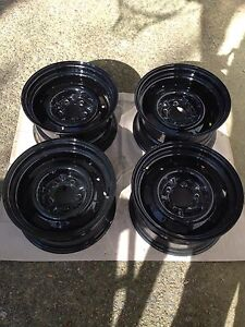 Corvette Rally Wheels Black Wheel Vintiques