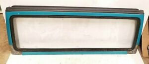 Jeep Wrangler Tj Windshield Frame 97 02 Teal Pqp With Glass No Shipping 97y