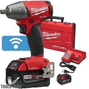 Milwaukee 2759 22 M18 Fuel One key 1 2 Compact Impact W Pin Detent Kit New
