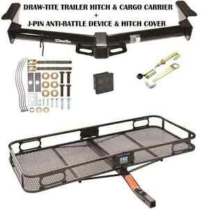 2003 2009 Lexus Gx470 Trailer Hitch Cargo Basket Carrier Silent Pin Lock Tow