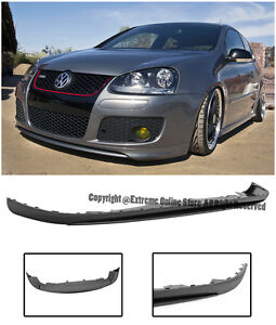 For 05 10 Jetta Gti Mk5 Edition 30 Ed30 Style Front Bumper Lower Lip Spoiler Kit