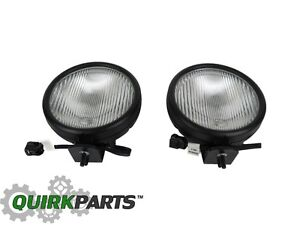 05 06 Jeep Wrangler Fog Light Lamp Replacement Set Of 2 New Mopar Genuine