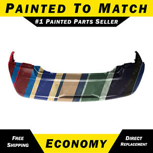 New Painted To Match Rear Bumper Cover For 2006 2010 Dodge Charger 4806188ad