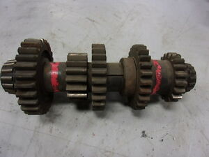 John Deere B Transmission Countershaft With Gears Fits Unstyled