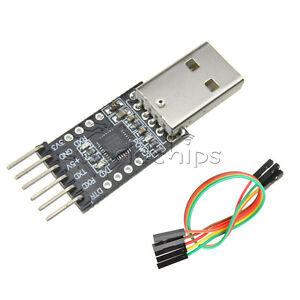 Usb 2 0 To Ttl Uart Cp2102 Module 6pin Serial Converter Free Cables