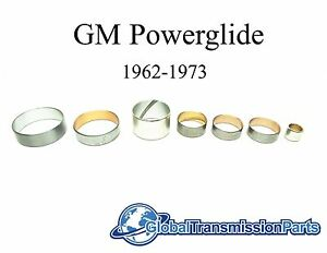 Gm Powerglide Transmission Bushing Kit 1962 1973 7 Piece Set New Fast Ship