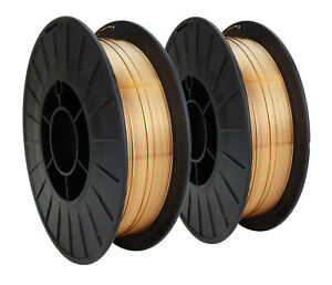 Er70s 6 Copper Coated Mig General Use Welding Wire 11 Lb X 0 030 2 Spools