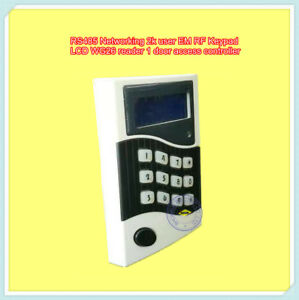 Rs485 Networking 2k User Mifare1keypad Lcd Wg26 Reader 1 Door Access Controller