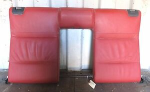 2011 2013 Bmw 335i Convertible E93 Oem Rear Upper Seat Bench Backrest Coral Red