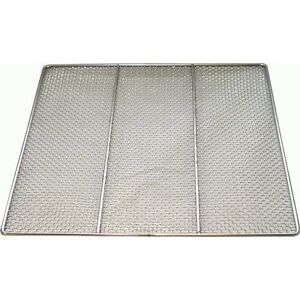 Dn fs23 Quant Of 10 Stainless Steel Donut Frying Screens 23 x23 Wire 24 Ga