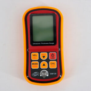Gm130 Precision Ultrasonic Thickness Gauge Steel Thickness Tester