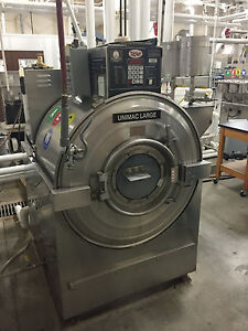 Unimac 85 Lbs Industrial Washer extractor Sw400pva 240 Volt 3 Phase