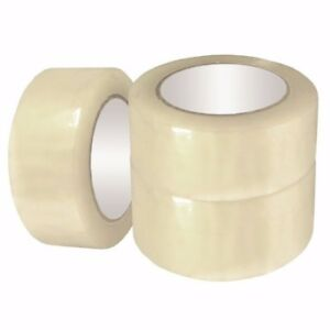 36 Rolls 2 Wide 110yd 330ft 2 0 Mil Packing Box Carton Shipping Clear Tape
