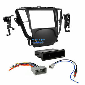 Car Stereo Single Double Din Dash Kit Harness Antenna For 2009 2014 Acura Tl