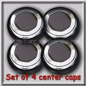 1996 1997 Lincoln Town Car Center Caps Hubcaps Fits Oem Alloy Wheel Set Of 4