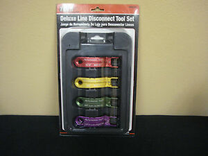 Performance Tool Deluxe Line Disconnect 4 pc Tool Set w89334 Nib