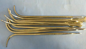 Lot Of 10 22fr Van Buren Urethral Sounds