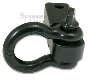 Solid Shank Shackle D ring Receiver Hitch Capacity 10 000 Lbs