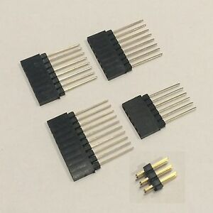 20pcs Arduino Uno Female Header Pin Shield Kit 1x6 2 1x8 1x10 Male 2x3
