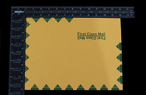 9 X 12 28lb Brown Kraft First Class Open Side Booklet Envelopes 500 Per Ctn