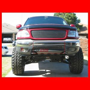 Billet Grille Insert 2000 Ford Expedition Xlt Front Grill Bumper Aluminum