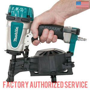 Makita An453 1 3 4 Coil Roofing Nailer With Full One Year Warranty